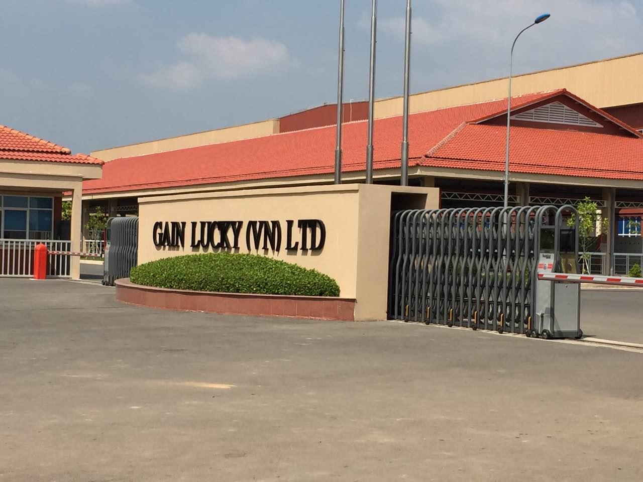 Công Trình Cổng Xếp Hồng Môn - Nhà Máy Dệt Gain Lucky