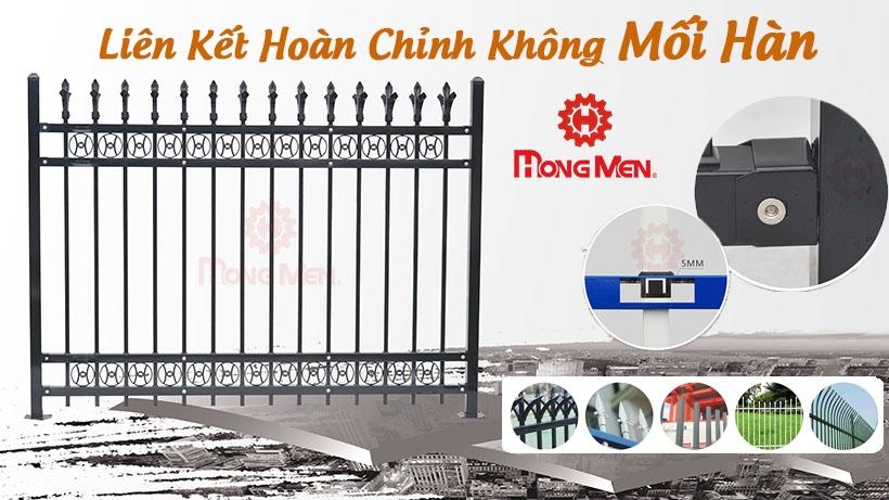 Top 36+ Mẫu Hàng Rào Nhôm, Hàng Rào Sắt Mạ Kẽm Sơn Tĩnh Điện