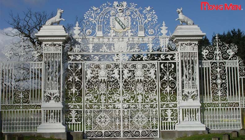 Bí quyết lựa chọn được trụ cổng biệt thự đẹp