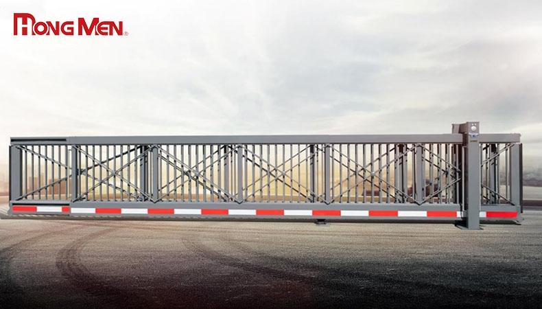 Cổng trượt ngang tự động- Xu hướng mẫu cổng hiện đại