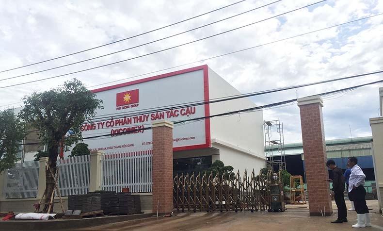 Công ty Cổ phần Thủy sản Tắc Cậu- Kiên Giang