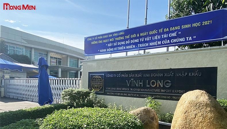 Công ty CP Sản xuất Kinh doanh XNK Vĩnh Long
