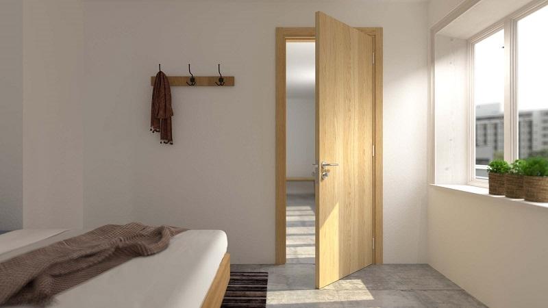 Cửa phòng ngủ nên dùng loại cửa nào tốt?