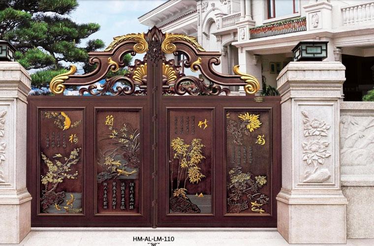 Mẫu cổng nhà biệt thựMai Lan Trúc Cúc
