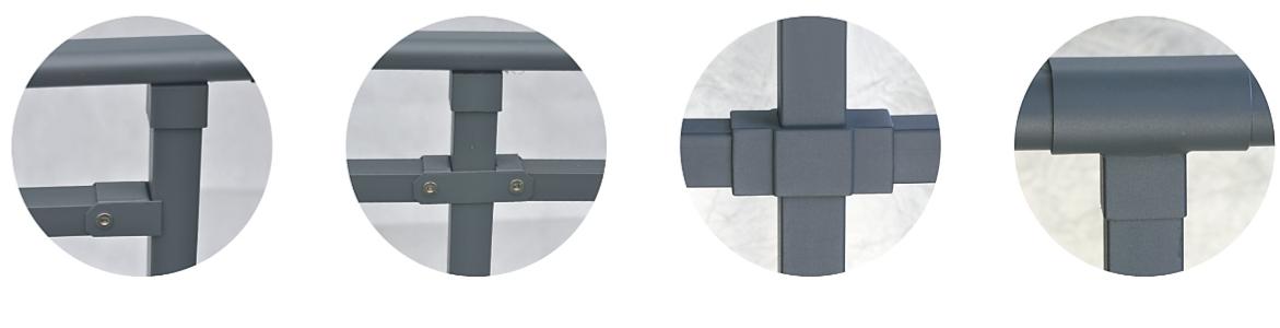 Lan Can Sắt Mạ Kẽm HM-XG-HL-S
