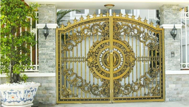Những mẫu cổng biệt thự tân cổ điển thịnh hành nhất