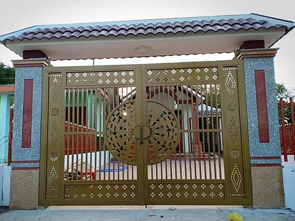 Phân biệt cổng mở cánh và cổng trượt tự động
