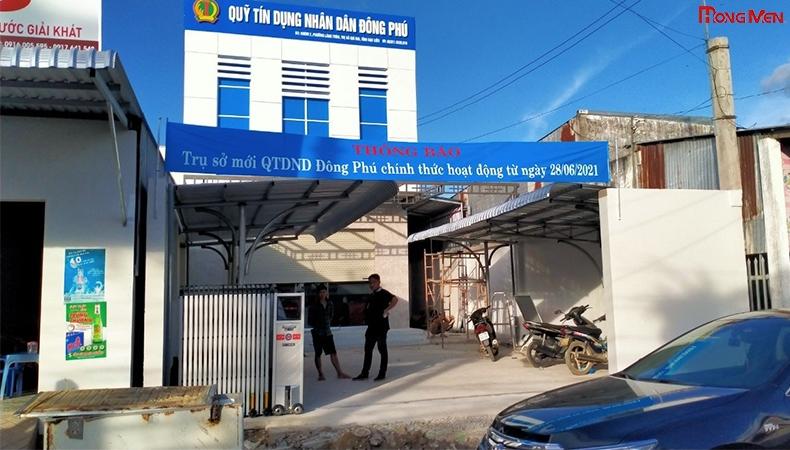 Quỹ Tín Dụng Nhân Dân Đông Phú, Giá Rai - Bạc Liêu
