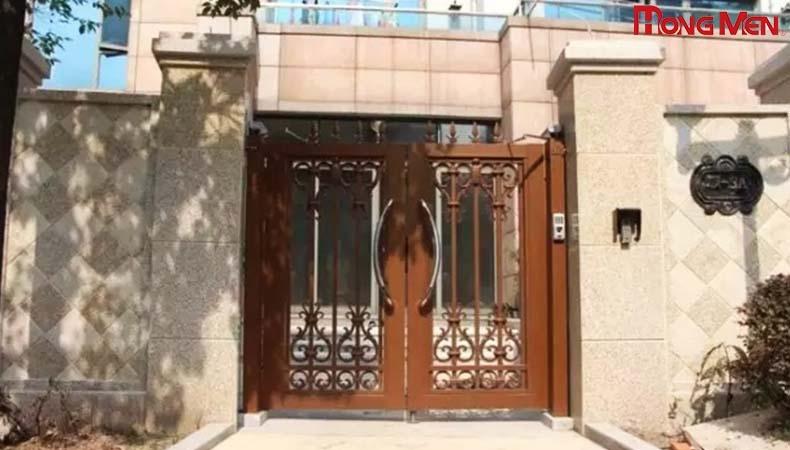 Xu hướng thiết kế cổng biệt thự đẹp năm 2021