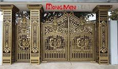 Báo giá cổng nhôm đúc tại Hà Nội