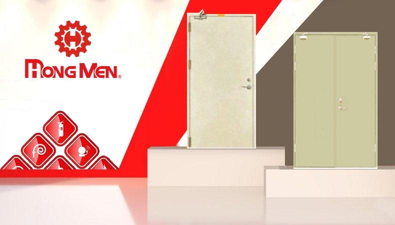 Báo giá cửa chống cháy TP HCM sử dụng phổ biến