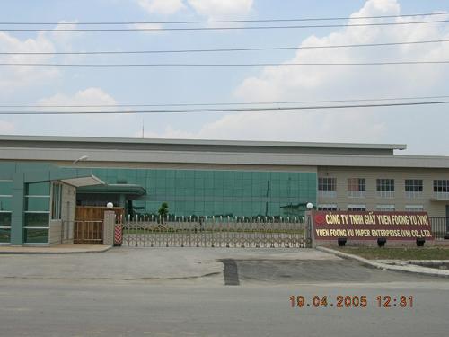 Công ty giấy Yuen Foong Yu (VN) - KCN Đức Hòa - Long An