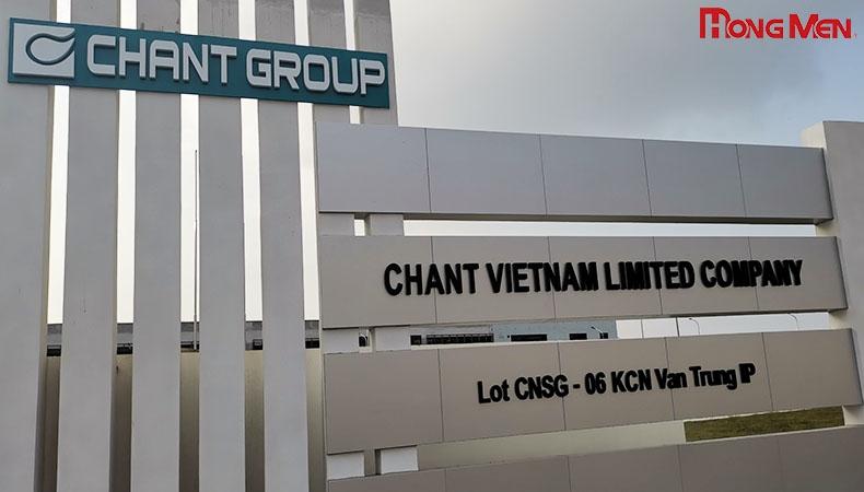 Công Ty TNHH Chant Việt Nam - Bắc Giang
