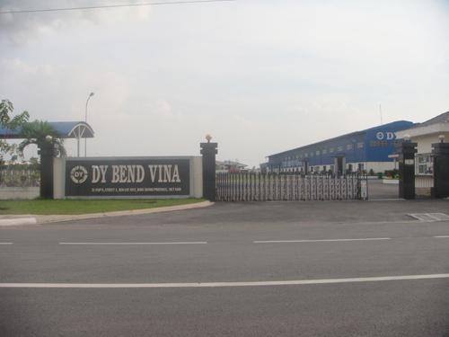 Công Ty TNHH DY BEND VINA - KCN VSIP II - Bình Dương
