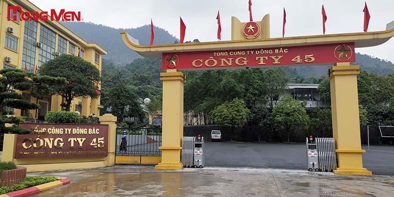 Công ty TNHH một thành viên 45 - Tổng Công ty Đông Bắc- Bắc Giang