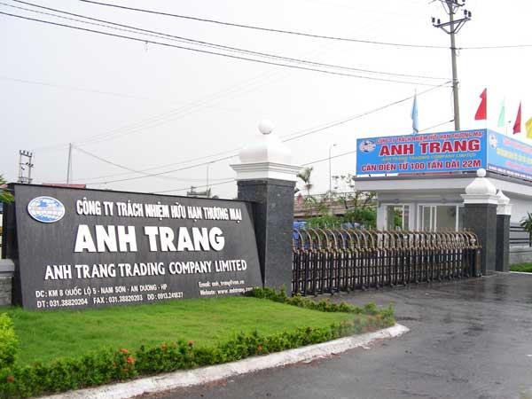 Công ty TNHH TM Anh Tranh - Quận Lê Chân - Hải Phòng