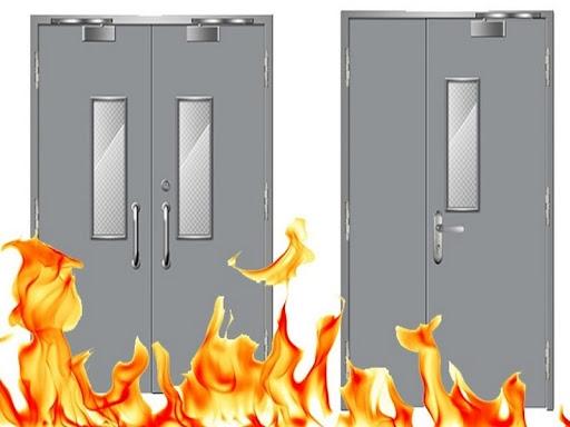 Cửa inox chống cháy và những lợi ích mang lại
