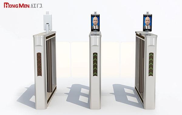 Gợi ý mẫu cổng flap barrier đẹp dùng cho tòa nhà