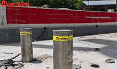 Kiểm định chất lượng cột nâng chống va chạm HongMen