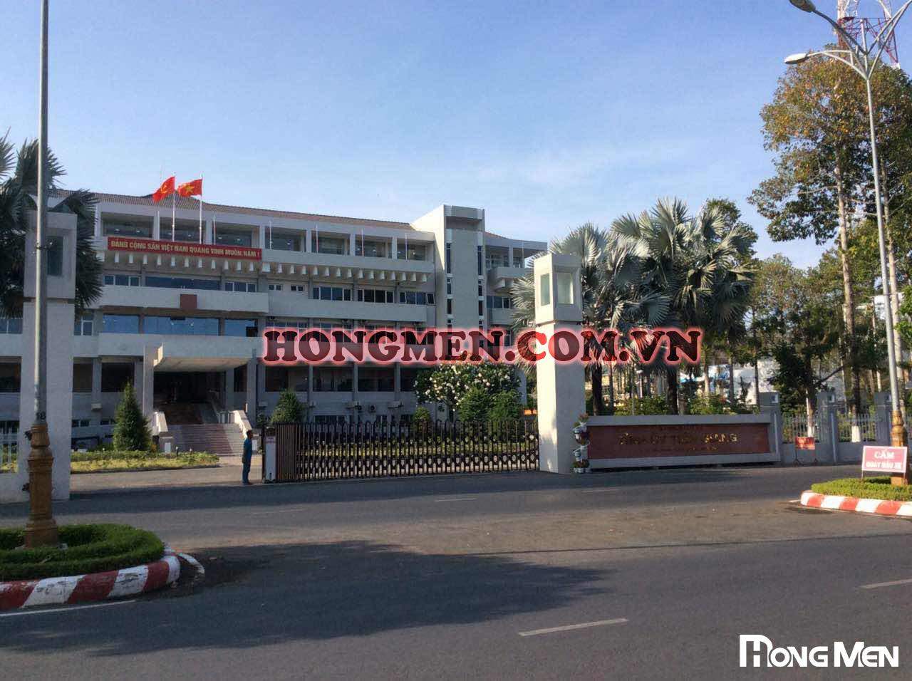 Lắp Đặt Cổng Xếp Hợp Kim Nhôm Tại Tỉnh Ủy Tiền Giang
