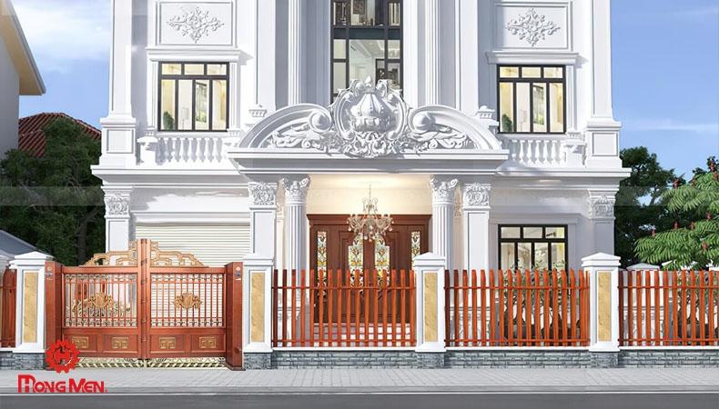 Cổng Biệt Thự Nhôm Đúc, Mẫu Cổng Nhà Tân Cổ Điển