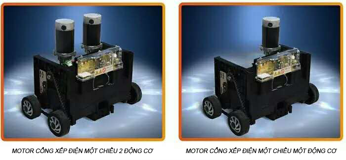 Motor cổng điện một chiều - Bảo hộ an toàn không lo điện giật