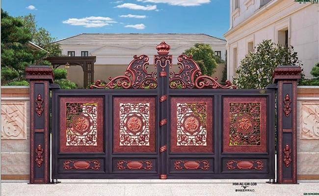 Top những cổng biệt thự 4 cánh đẹp 2021