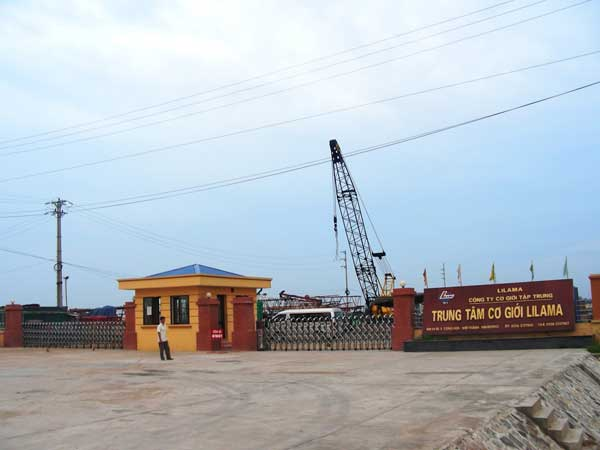 Trung tâm cơ giới LILAMA - Cụm CN Cộng Hòa - Kim Thành - Hải Dương