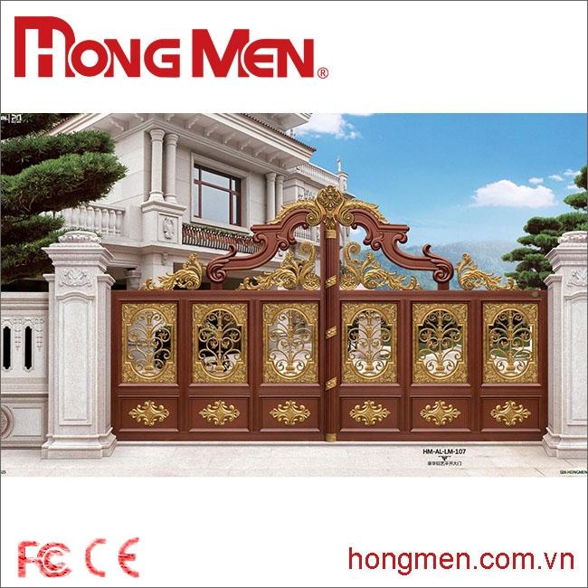 Cổng Biệt Thự Tú Môn Hoa Khai