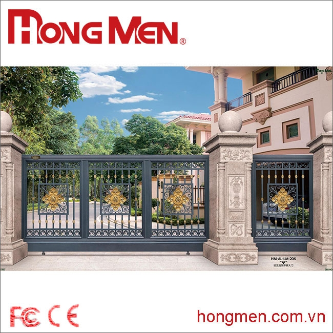 Cổng Biệt Thự HM-AL-LM-206