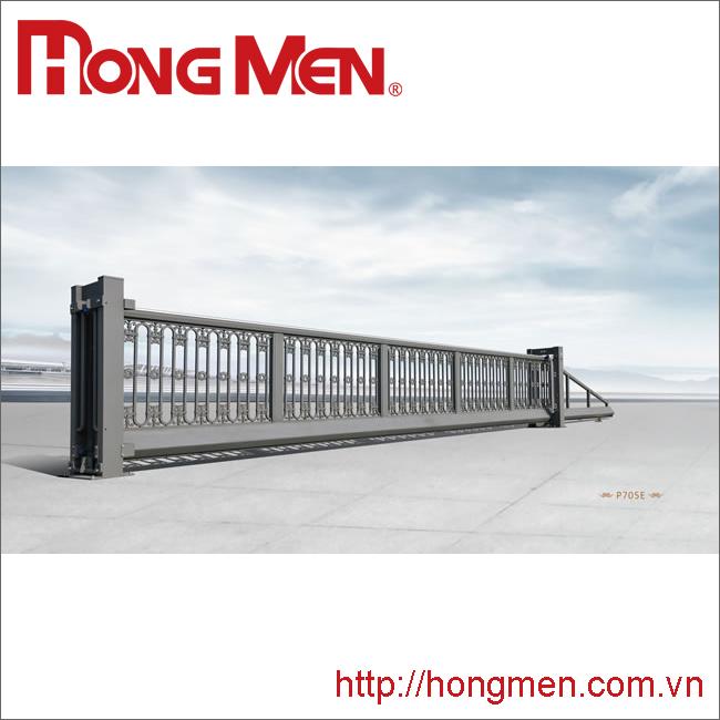 Cổng treo tự động hợp kim nhôm P705E