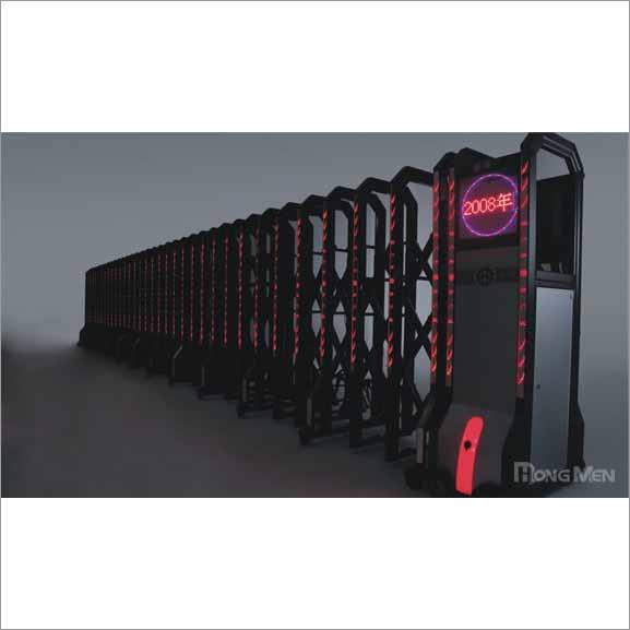 Cổng xếp đèn led S690H-H