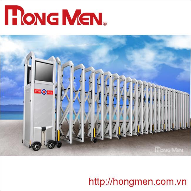 Cổng xếp hợp kim nhôm nhập khẩu S690C-Y