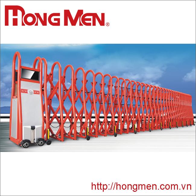 Cổng xếp hợp kim nhôm SQMC-R