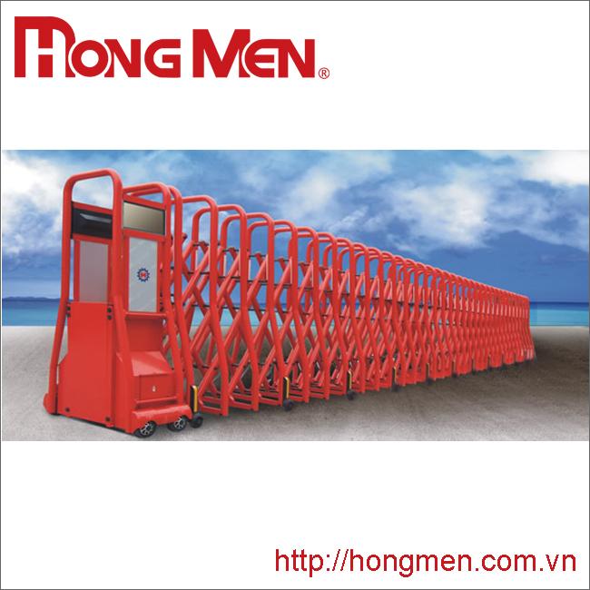 Cổng xếp hợp kim nhôm SQME-R