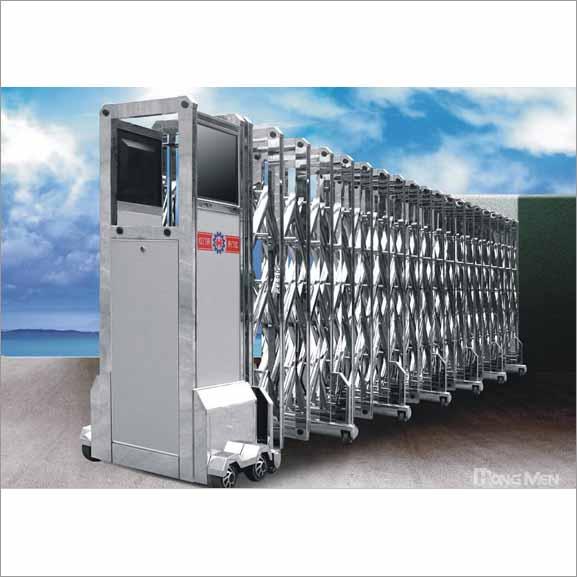 Cổng xếp inox 304 C-M