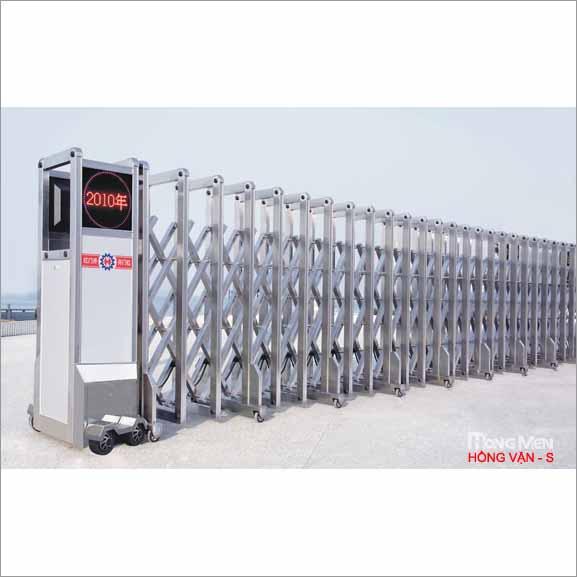 Cổng xếp inox 304 - S