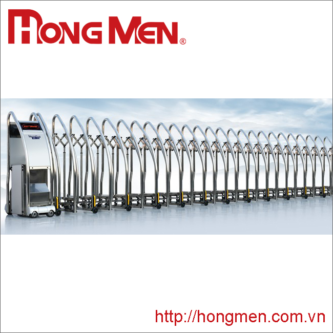 Cổng Xếp Inox 304 SQMGS