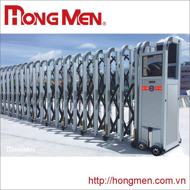 Cổng xếp tự động hợp kim nhôm H670-YH