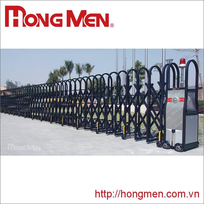 Cổng xếp tự động hợp kim nhôm SQM-H