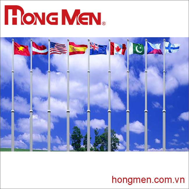 Cột Cờ Hợp Kim Nhôm
