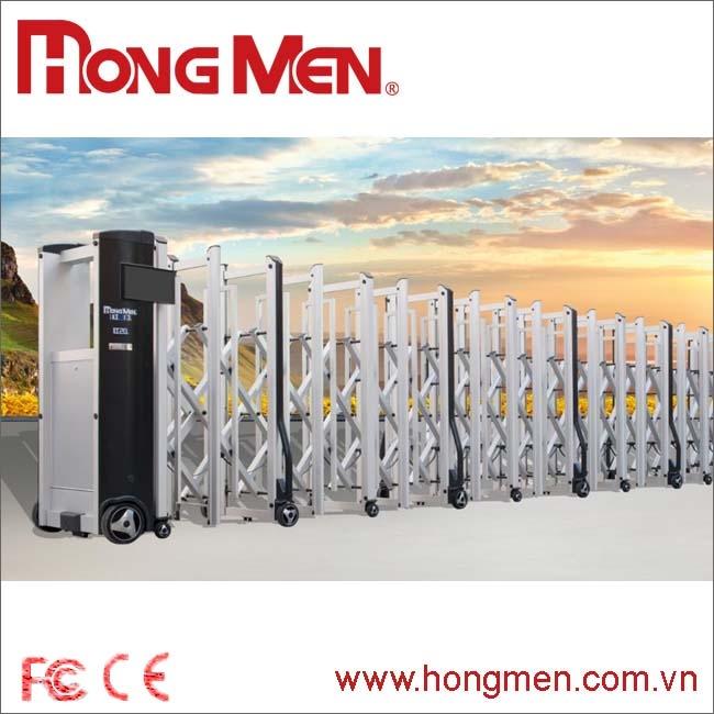 Cửa Cổng Xếp Hợp Kim Nhôm H20C