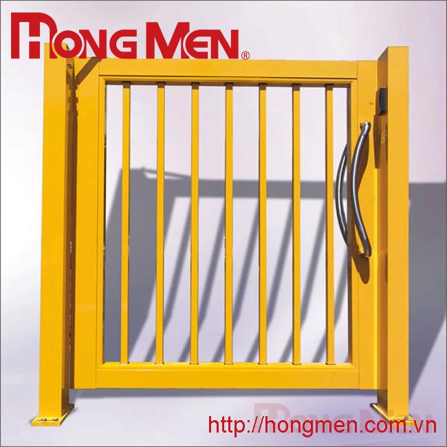 Cửa treo cổng phụ hợp kim nhôm P701-F