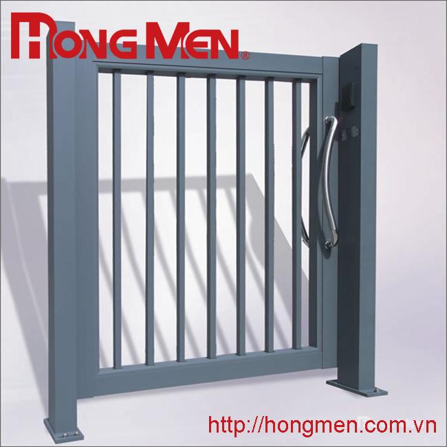 Cửa treo cổng phụ hợp kim nhôm P701-G