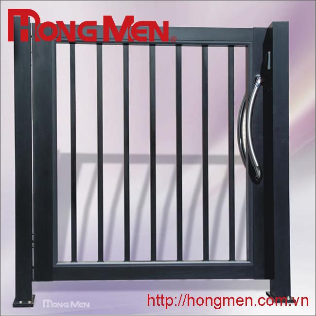 Cửa treo cổng phụ hợp kim nhôm P701-H