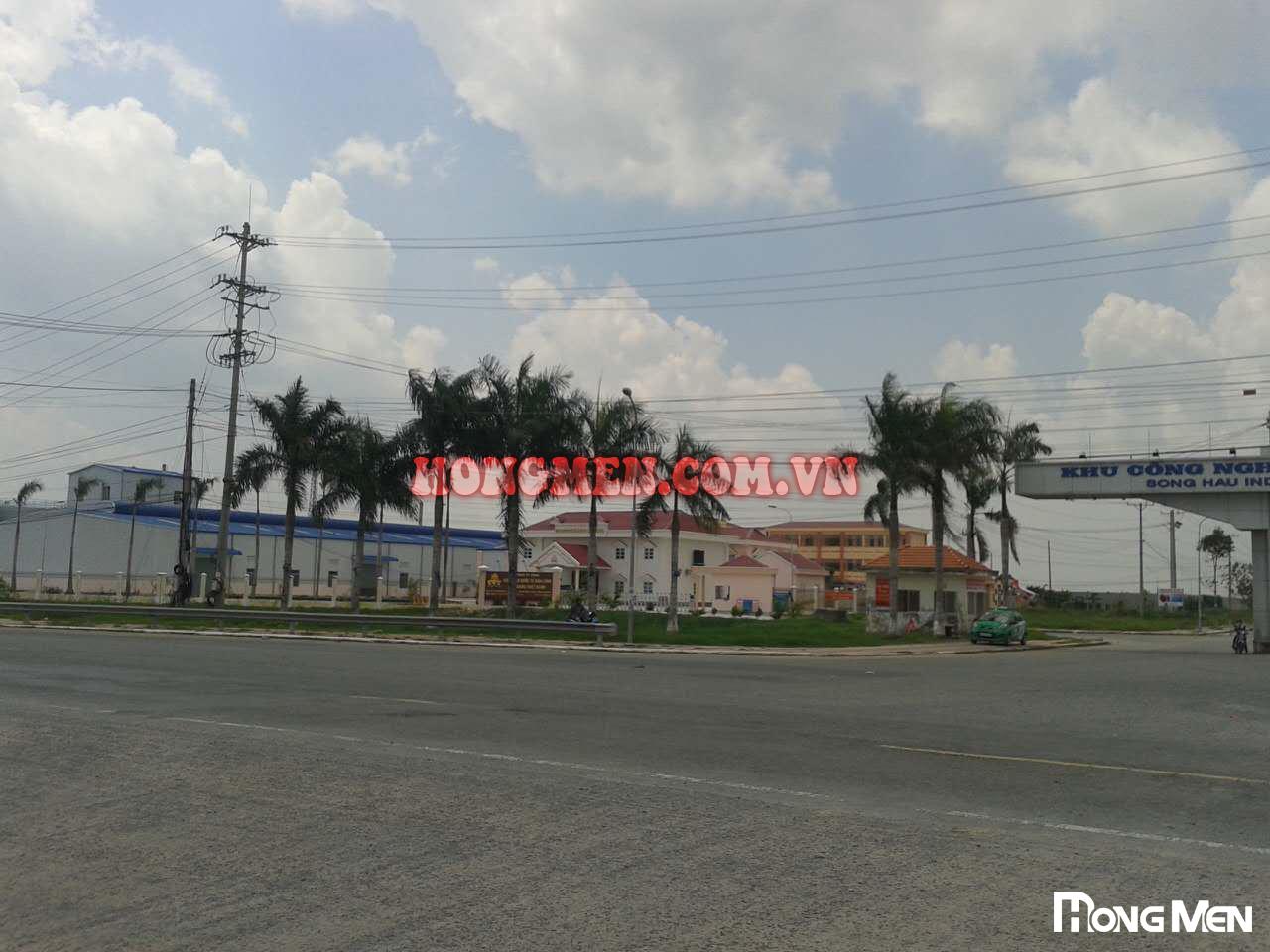 Nhà máy bơ Công Ty RunLong Hậu Giang