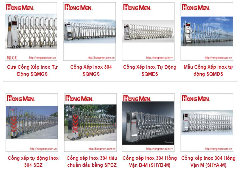 Dịch Vụ Lắp Đặt Cổng Xếp Inox Tại Hà Nội