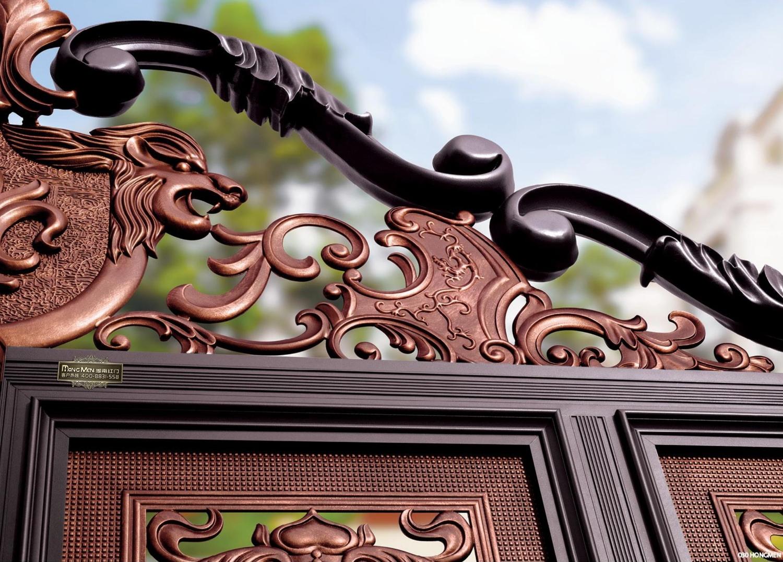 Cổng Biệt Thự Thần Sư Trấn Môn