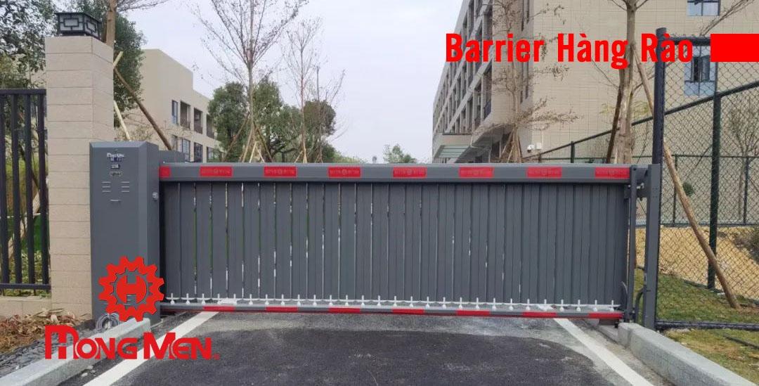 cổng barrier hàng rào