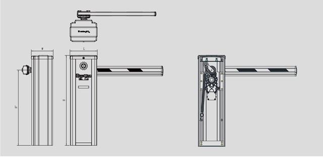 Thanh Chắn Barrier HBG-408
